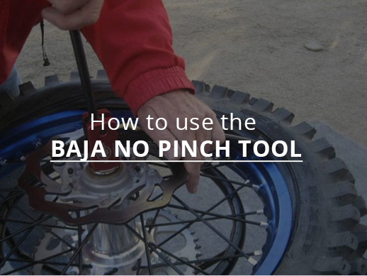 How to use the Baja NO Pinch Tool
